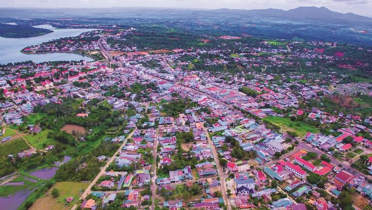 Xây dựng nông thôn mới ở Đắk Mil
