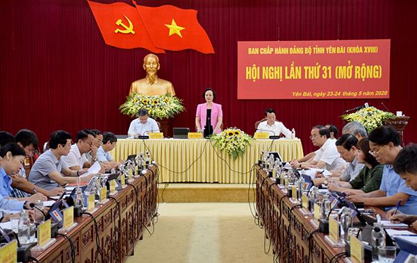Yên Bái tập trung làm tốt công tác nhân sự phục vụ Đại hội Đảng bộ tinh lần thứ XIX