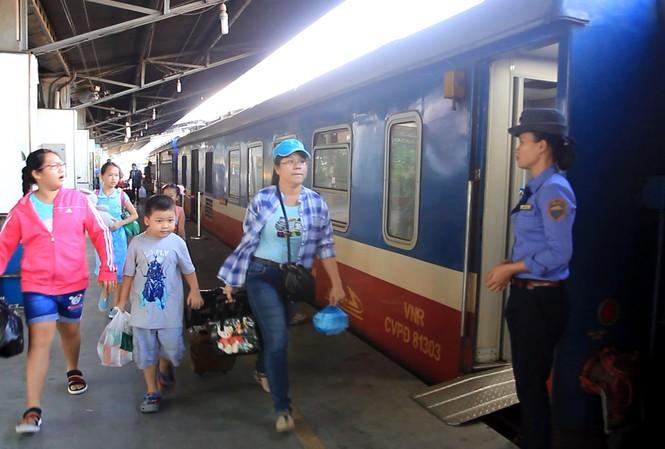 Đường sắt Sài Gòn giảm giá vé tàu lên đến 50