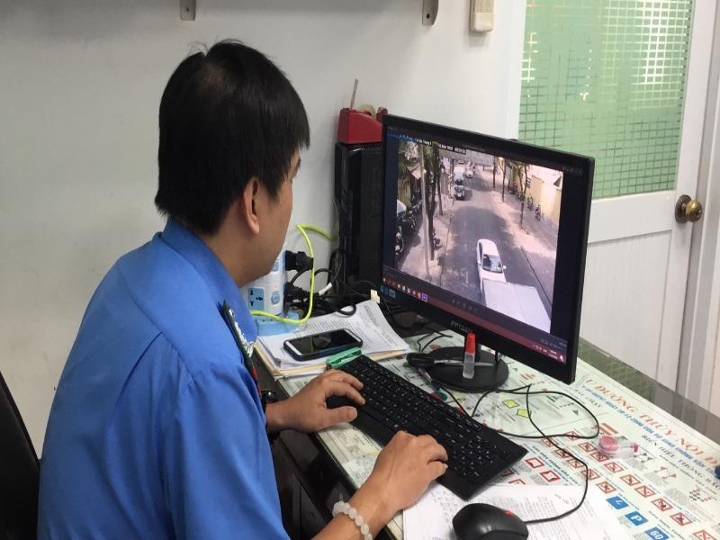 Xử phạt hàng loạt xe vi phạm thông qua hệ thống camera giám sát