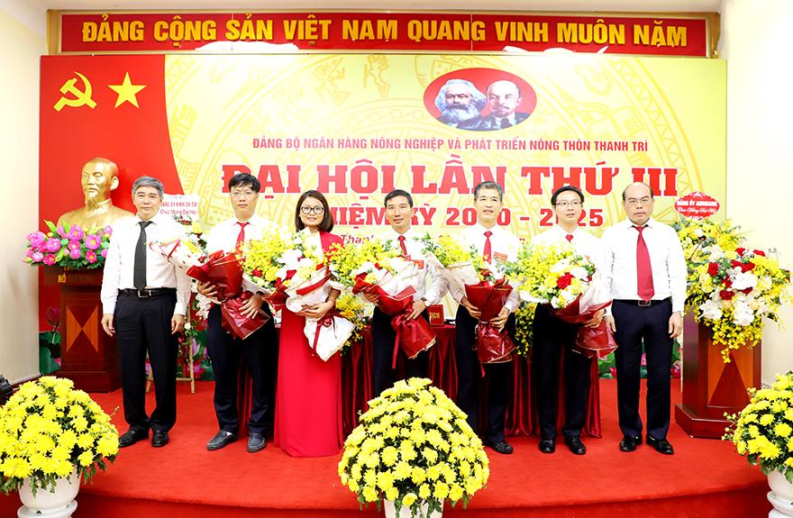 Đảng bộ Agribank Thanh Trì thí điểm bầu trực tiếp Bí thư tại Đại hội