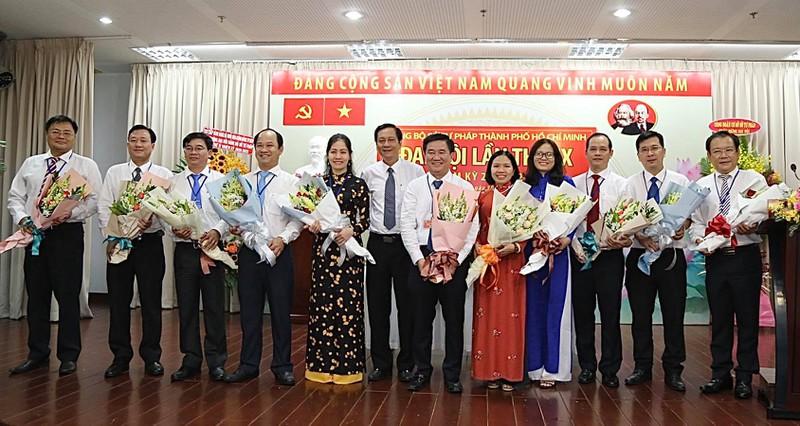 Đồng chí Huỳnh Văn Hạnh tái đắc cử Bí thư Đảng ủy Sở Tư pháp TP Hồ Chí Minh