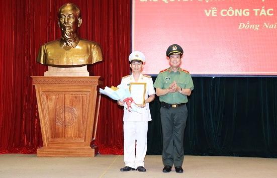 Bổ nhiệm Phó giám đốc Công an tỉnh Đồng Nai