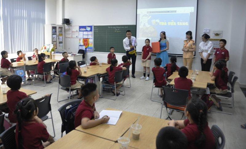 Tuyên truyền trực tuyến về an toàn giao thông cho học sinh tiểu học
