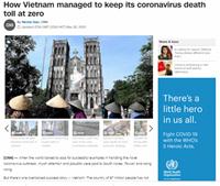 """CNN """"giải mã"""" câu chuyện thành công của Việt Nam trong ứng phó với đại dịch COVID-19"""