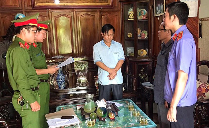 Bắt tạm giam nguyên giám đốc Thái Vĩnh Tính