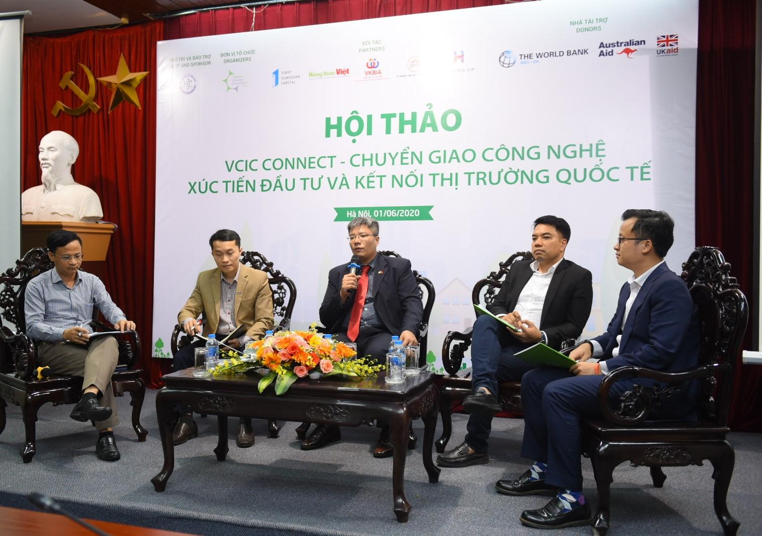 Chuyển giao công nghệ, xúc tiến đầu tư và kết nối thị trường quốc tế