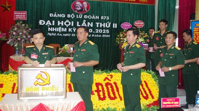 Đại hội Đảng bộ Lữ đoàn 873