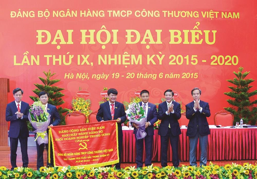 Đảng bộ VietinBank nhiệm kỳ 2015 - 2020 Dấu ấn đổi mới và phát triển