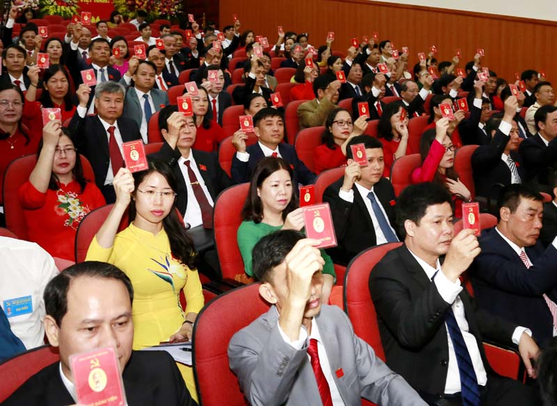 Hà Nội Trên 79 tổ chức cơ sở Đảng tổ chức thành công đại hội