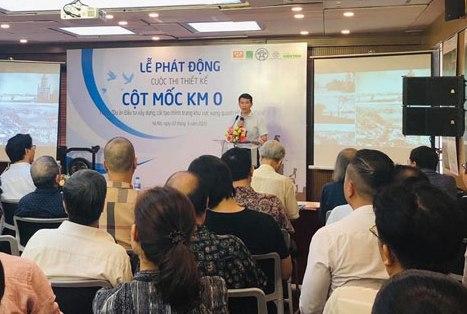 Thi thiết kế xây dựng cột mốc Km 0 tại khu vực hồ Hoàn Kiếm