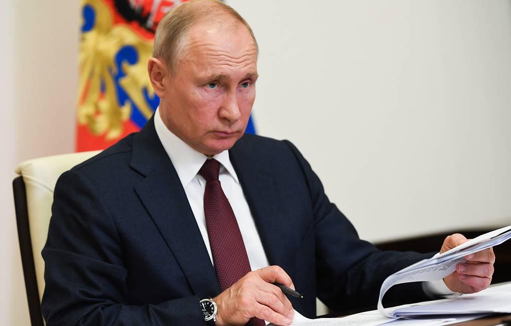 Tổng thống Nga V Putin ký sắc lệnh về chính sách ngăn chặn hạt nhân