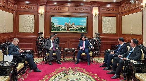 TP Hồ Chí Minh đẩy mạnh hợp tác với Armenia và Angola trên nhiều lĩnh vực