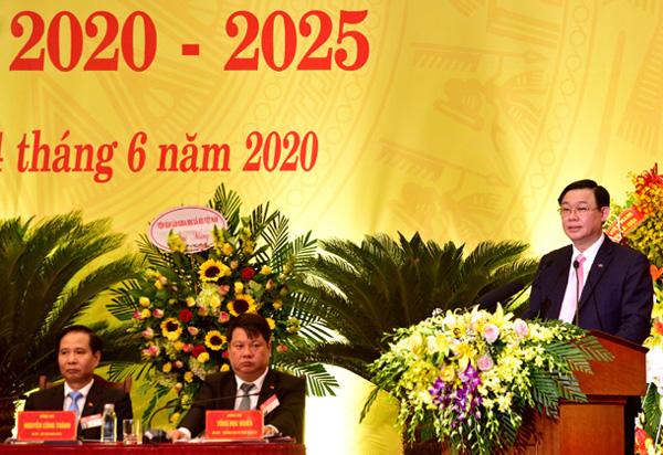 Đại hội Đảng bộ quận Ba Đình Khẳng định vị thế trung tâm hành chính, chính trị của Thủ đô