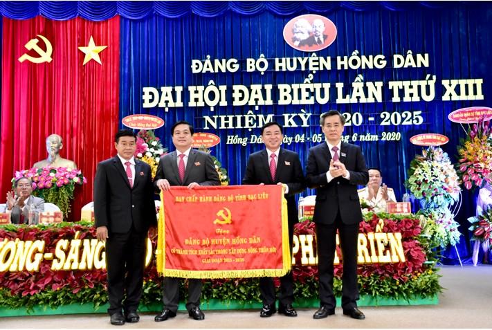 Đại hội điểm cấp huyện đầu tiên của tỉnh Bạc Liêu trực tiếp bầu Bí thư
