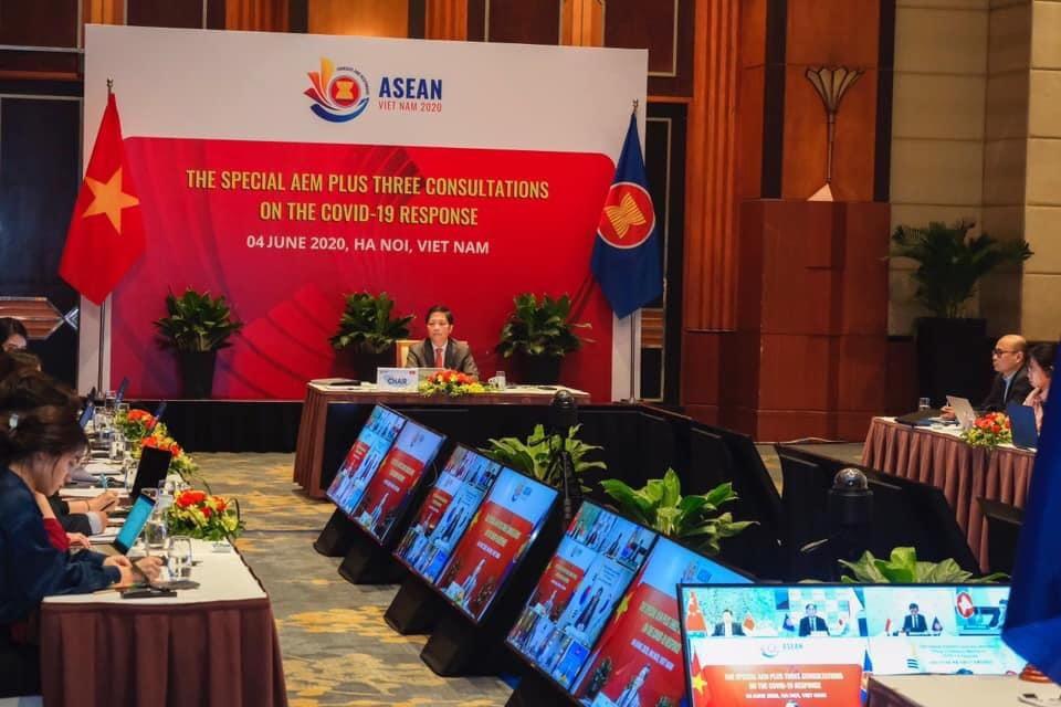 Tuyên bố chung của Bộ trưởng kinh tế ASEAN+3