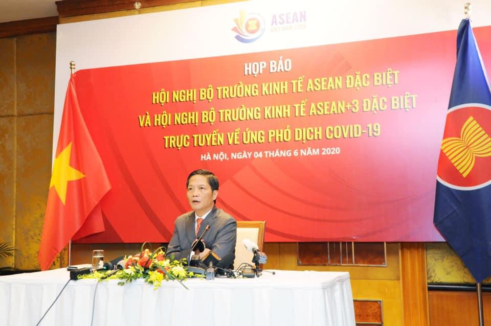 Hội nghị AEM và AEM+3 Đảm bảo hiệu quả phòng chống dịch và khôi phục kinh tế