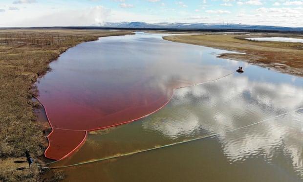 Nga ban bố tình trạng khẩn cấp quốc gia do sự cố tràn dầu ở Siberia