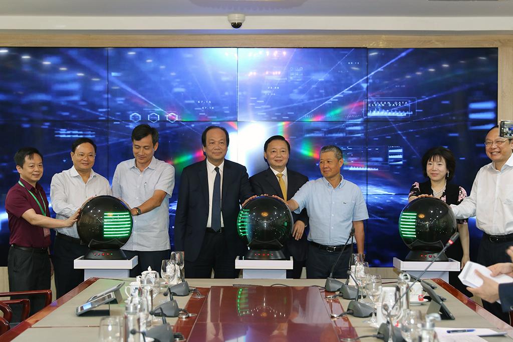 Ra mắt Trung tâm điều hành thông minh của Bộ Tài nguyên và Môi trường