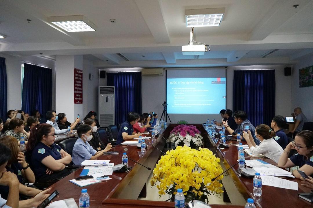 TP Hồ Chí Minh Đào tạo, sát hạch online cho nhân viên đại lý thu BHXH tự nguyện, BHYT