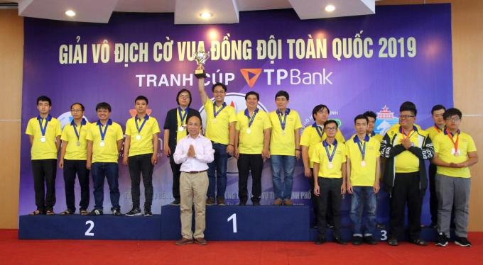 Gần 300 kỳ thủ tham dự Giải vô địch đồng đội cờ vua toàn quốc
