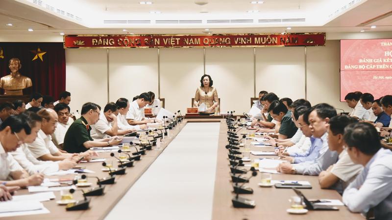 Hà Nội Rút kinh nghiệm tổ chức đại hội điểm đảng bộ cấp trên cơ sở