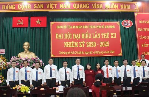 Đại hội đại biểu Đảng bộ TAND TP Hồ Chí Minh nhiệm kỳ 2020 - 2025