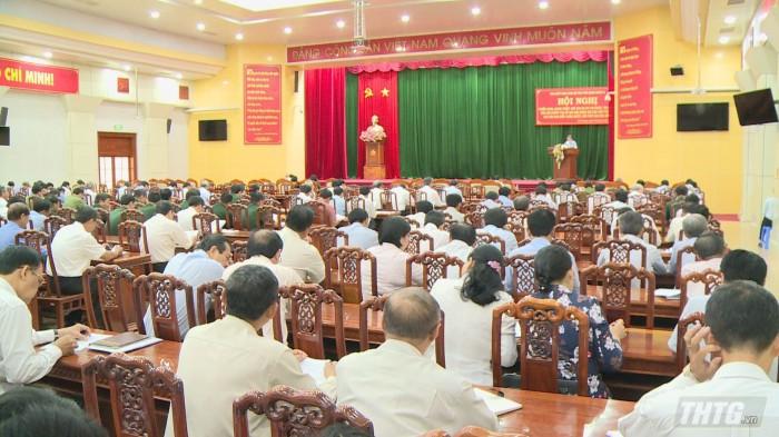 Tiền Giang tập trung cho đại hội đảng bộ các cấp