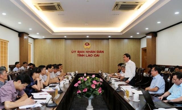 Kiểm tra công tác phòng, chống thiên tai tại Lào Cai