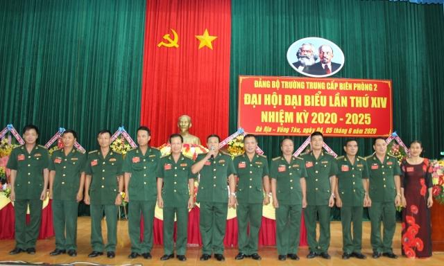 Đại hội đại biểu Đảng bộ trường Trung cấp Biên phòng 2 lần thứ XIV