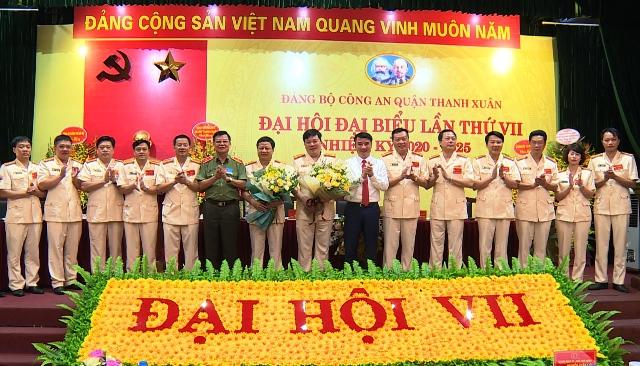 Đại hội đại biểu Đảng bộ Công an quận Thanh Xuân lần thứ VII