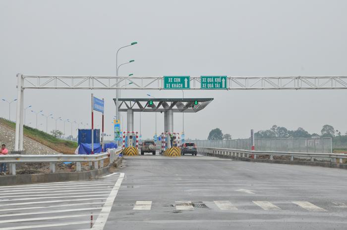 Thu phí không dừng cao tốc Pháp Vân - Cầu Giẽ - Ninh Bình
