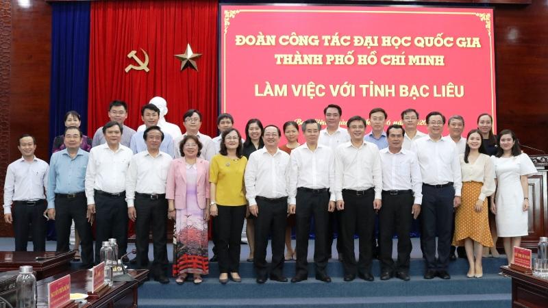 ĐHQG TPHCM góp ý kiến vào Dự thảo Báo cáo chính trị trình Đại hội Đảng bộ tỉnh Bạc Liêu
