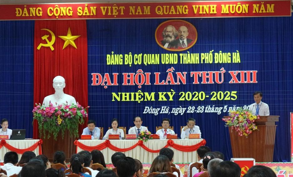 Quảng Trị Trên 70 tổ chức cơ sở đảng đã tiến hành đại hội