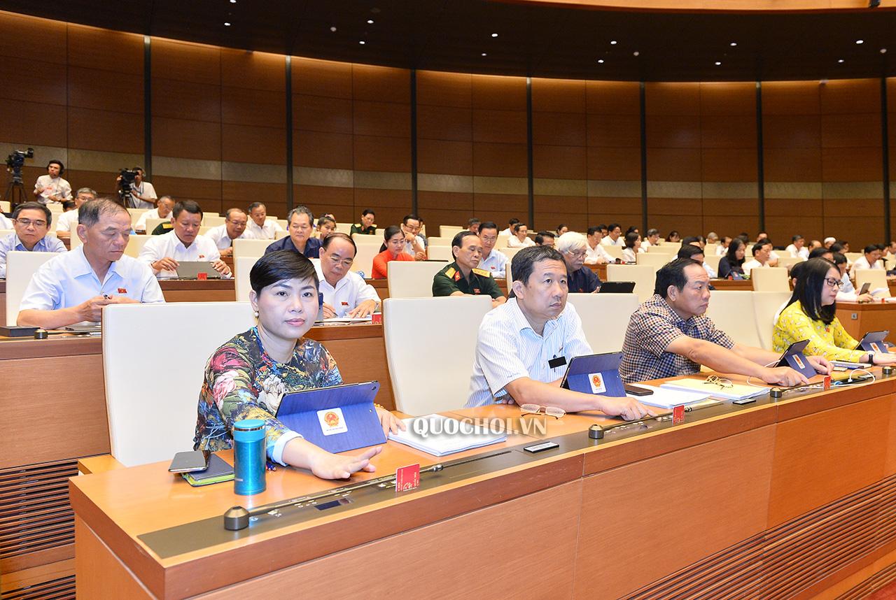 Quốc hội thông qua Nghị quyết gia nhập Công ước về Xóa bỏ lao động cưỡng bức