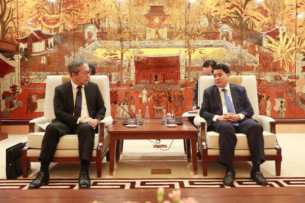 Hà Nội tạo điều kiện thuận lợi doanh nghiệp Nhật Bản hồi phục kinh tế sau dịch