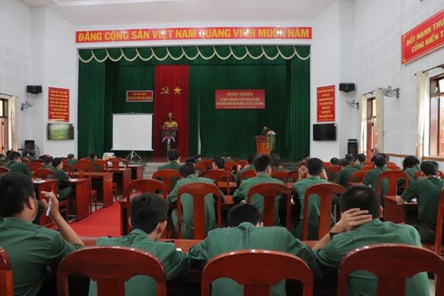 An Giang tuyên truyền 44 năm ngày truyền thống Bộ đội Biên phòng tỉnh
