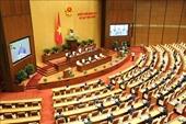 Thông cáo báo chí số 15, Kỳ họp thứ 9, Quốc hội khóa XIV