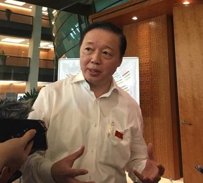 Bộ trưởng Trần Hồng Hà Xả nhiều rác sẽ phải trả tiền nhiều hơn