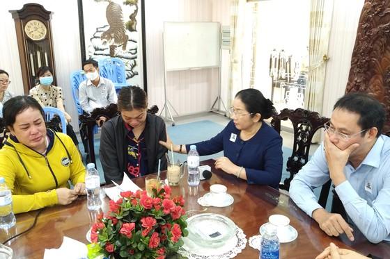 Hỗ trợ gia đình nạn nhân tử vong trong vụ cháy ở quận Bình Tân