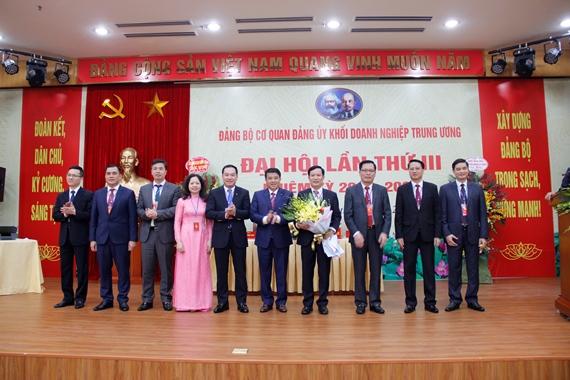 Nâng cao chất lượng tham mưu, xây dựng Đảng bộ Khối Doanh nghiệp Trung ương vững mạnh toàn diện