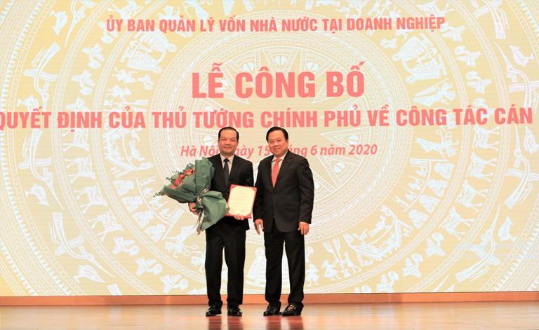 Ông Phạm Đức Long được bổ nhiệm Chủ tịch Hội đồng thành viên Tập đoàn VNPT