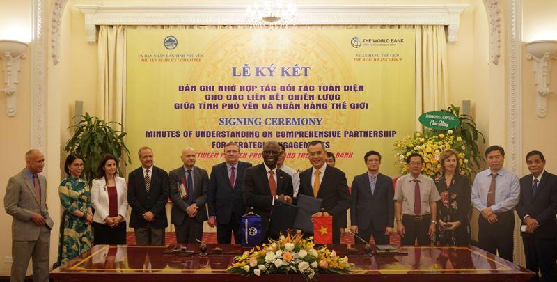 Đối tác chiến lược giữa Ngân hàng Thế giới và tỉnh Phú Yên