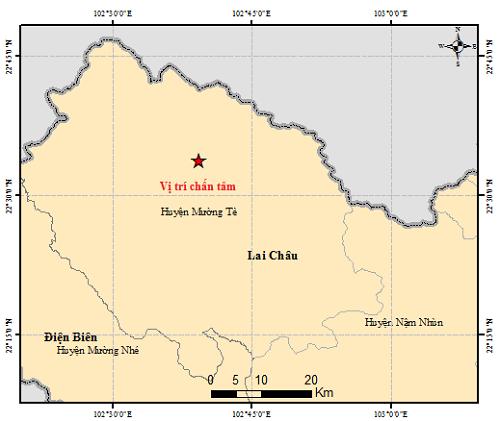 Kiểm tra, rà soát ảnh hưởng của trận động đất tại Lai Châu