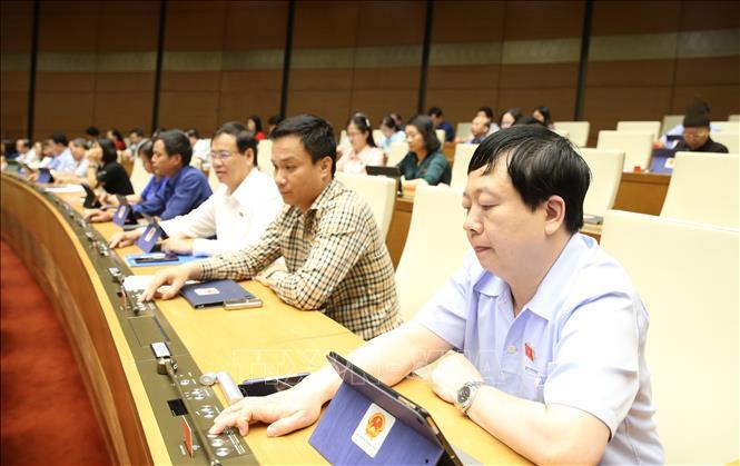 Quốc hội biểu quyết thông qua Luật Thanh niên sửa đổi