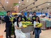 Chuối Việt Nam đã chính thức được bày bán trong hệ thống siêu thị của Lotte Mart