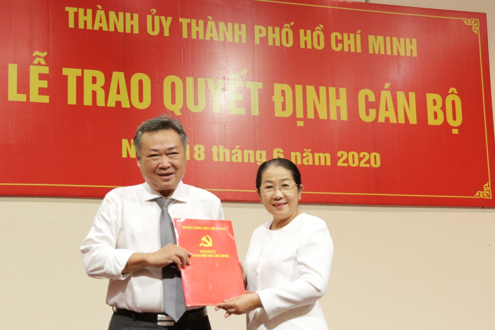Đồng chí Phạm Quốc Bảo giữ chức Bí thư Đảng ủy TCT Điện lực TP Hồ Chí Minh