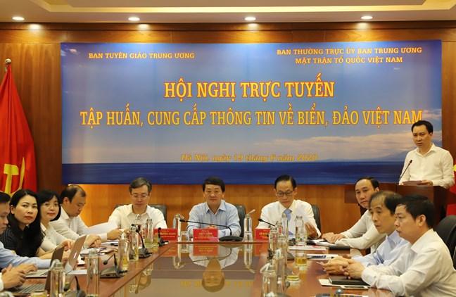 Tuyên truyền bảo vệ quyền, lợi ích của Việt Nam trên biển