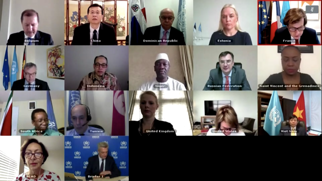 Hội đồng Bảo an thảo luận về tình hình người tị nạn trên thế giới