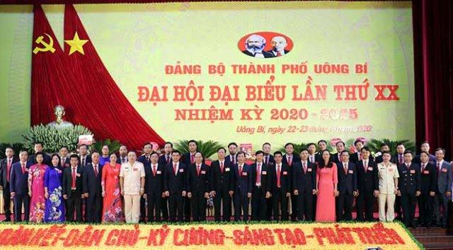Đồng chí Trần Văn Lâm tái đắc cử Bí thư Thành phố Uông Bí